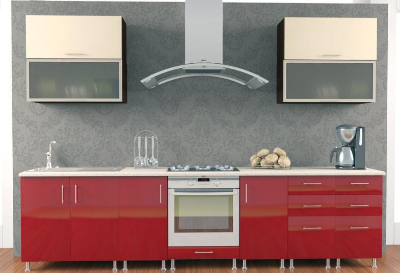 Кухня хай глосс фото